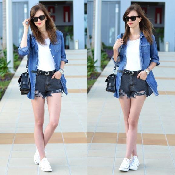 Phối giày phù hợp với màu sắc trang phục