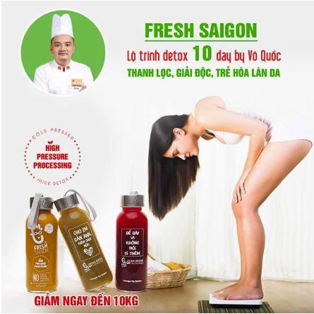 Sản phẩm mang thương hiệu Fresh Saigon có công dụng giảm cân.