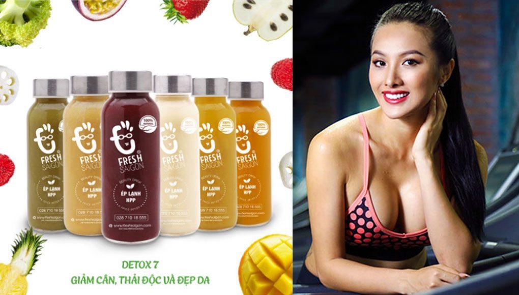 Detox Beauty Drink 7 - Giảm cân, giải độc và đẹp da với 28(+3) chai