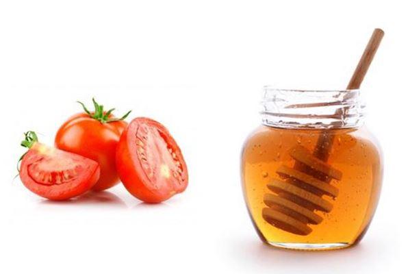 Cà chua và mật ong :