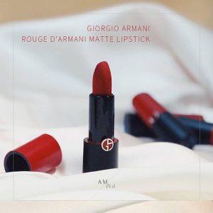 Son Giorgio Armani Beauty Rouge D'Armani Matte Lipstick màu GA400