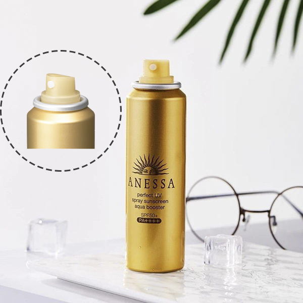 Xịt chống nắng Shiseido Anessa Perfect UV Spray Suncream Aqua Booster SPF50+/PA++++ - JAPAN