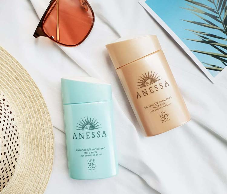 Shiseido Anessa Essence UV Sunscreen Mild Milk SPF35/PA+++